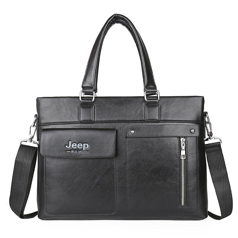 Business men's fashion document bag - BLACK