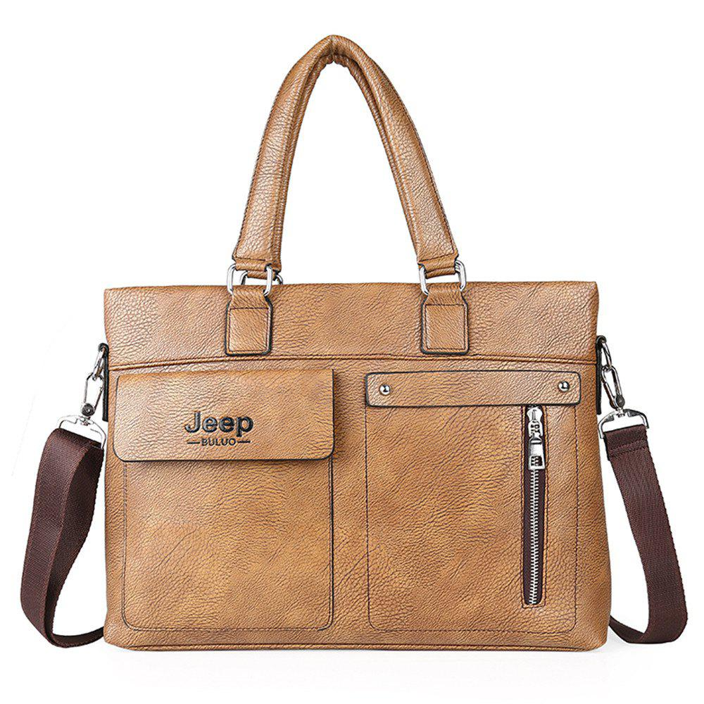 Business men's fashion document bag - KHAKI
