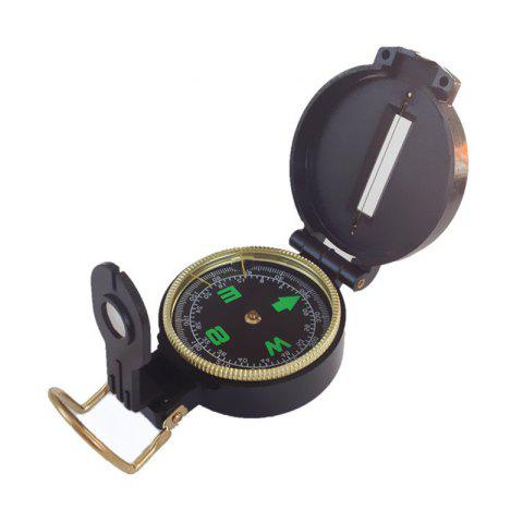 Multi-Function Military Compass Outdoor Sport Accessory Hiking Climbing - BLACK