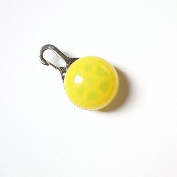 Small Pet Glowing Pendant -  YELLOW