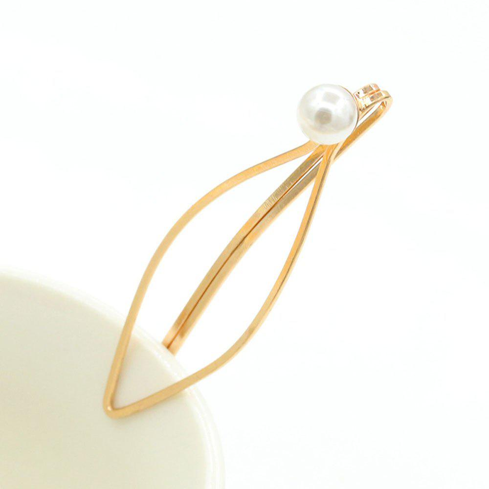 Mesdames Fashion alliage Golden Hairpin - d/ ;or