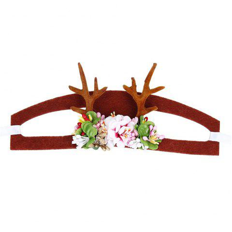 Spear Reindeer Antlers Cat Headdress - COLOUR S