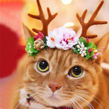 Spear Reindeer Antlers Cat Headdress - COLOUR COLOUR