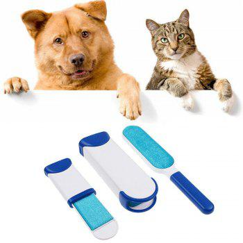 Pet Grooming Brush Three-Piece Suit - BLUE