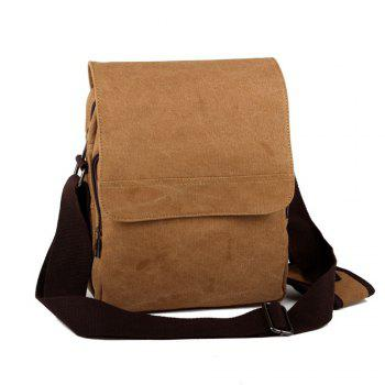 Trendy Men'S Shoulder Bag -  BROWNIE