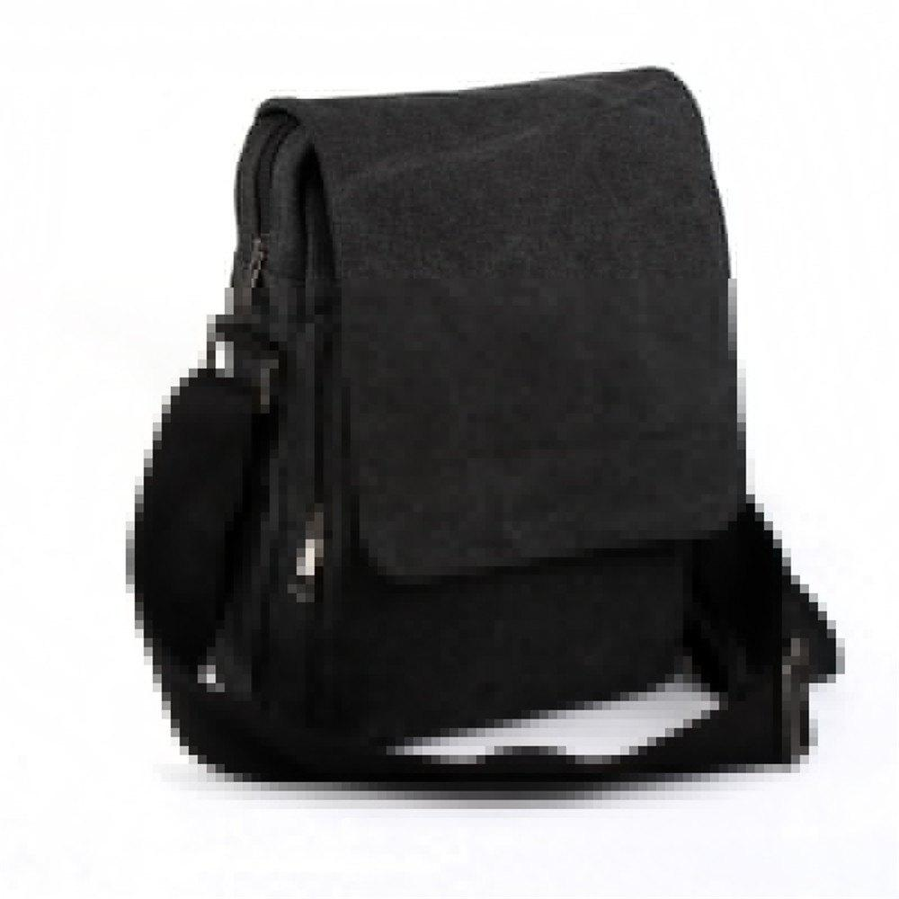 Trendy Men'S Shoulder Bag - BLACK