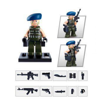 Sluban Building Blocks Educational Kids Toy Police Set 1PC - IVY IVY
