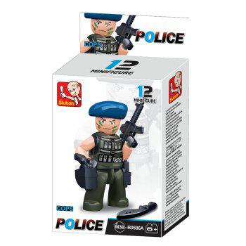Sluban Building Blocks Educational Kids Toy Police Set 1PC -  IVY