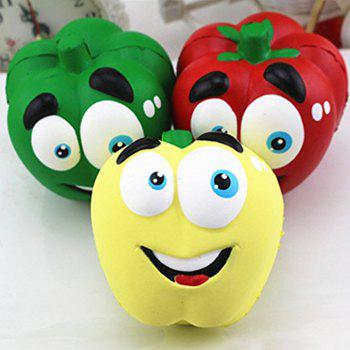 Jumbo Slow Rising Squishies Cream Scented Kawaii Squeeze Toy Phone Charm Gift Stress Relief Toy for Kids Adults - YELLOW