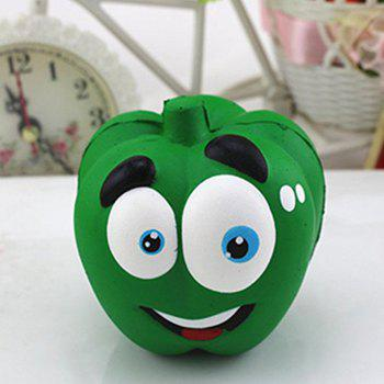 Jumbo Slow Rising Squishies Cream Scented Kawaii Squeeze Toy Phone Charm Gift Stress Relief Toy for Kids Adults - GREEN