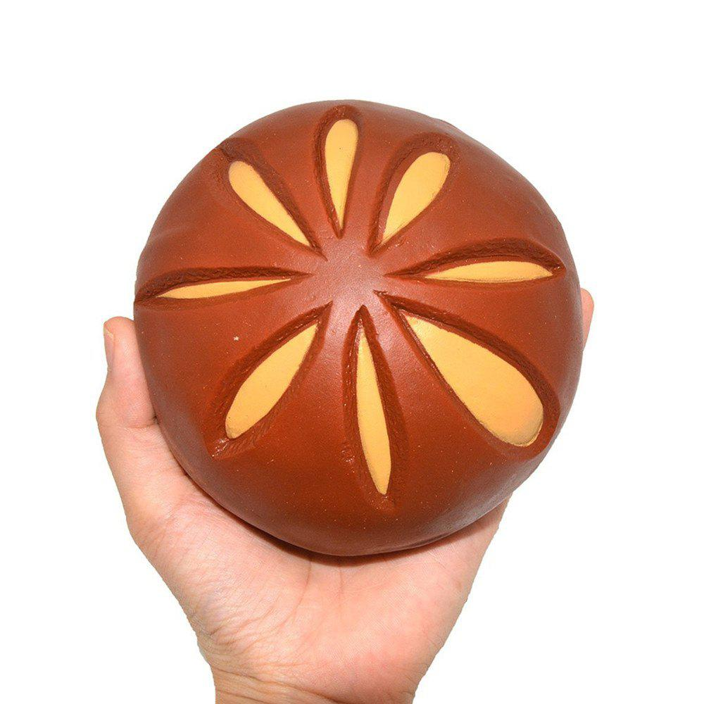 High Quality Squeeze Stretch Squishy Bun Fruit Scented Slow Rising Gift Toy for Kids - BROWNIE
