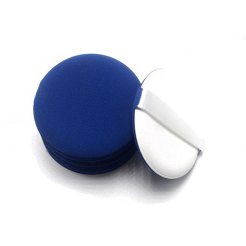Multifunctional Makeup Air Cushion Sponge Powder Puff Wet Dry Dual-use with Plastic Box for BB - BLUE