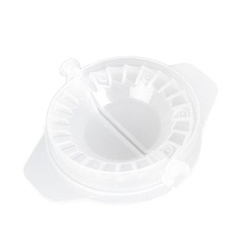 Practical Kitchen Gadgets Manual Household Dumplings Mold - WHITE