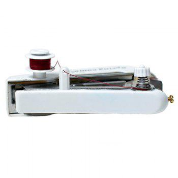 Creative Mini Manual Sewing Machine - WHITE