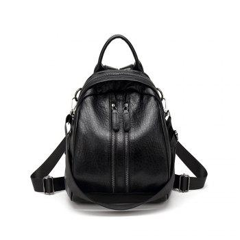 Women S Pu Leather Backpack Purse Ladies