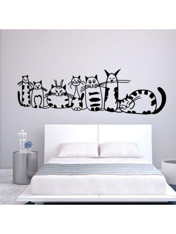 Nice DSU Cute Cat Bed Stickers Home Furnishing Background Decorative Wall  Stickers