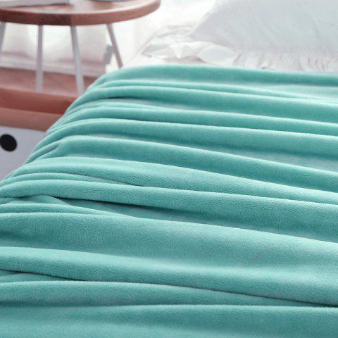 Thin Quilt air Conditioning Bed Nap Single Double Thickening Blanket - MINT 180CM X 200CM