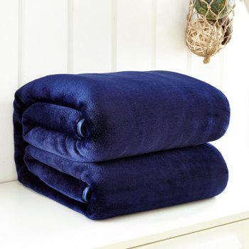Thin Quilt air Conditioning Bed Nap Single Double Thickening Blanket - CERULEAN CERULEAN