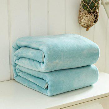Thin Quilt air Conditioning Bed Nap Single Double Thickening Blanket - MINT MINT