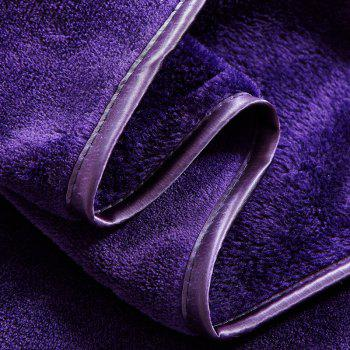 Thin Quilt air Conditioning Bed Nap Single Double Thickening Blanket - PURPLE PURPLE