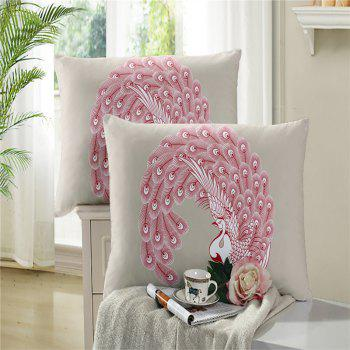 Embroidered Feather Series Four Pieces of Bedding - PALOMINO PALOMINO
