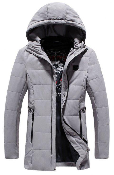 Fashion Warm Fashion Coat - GRAY XL