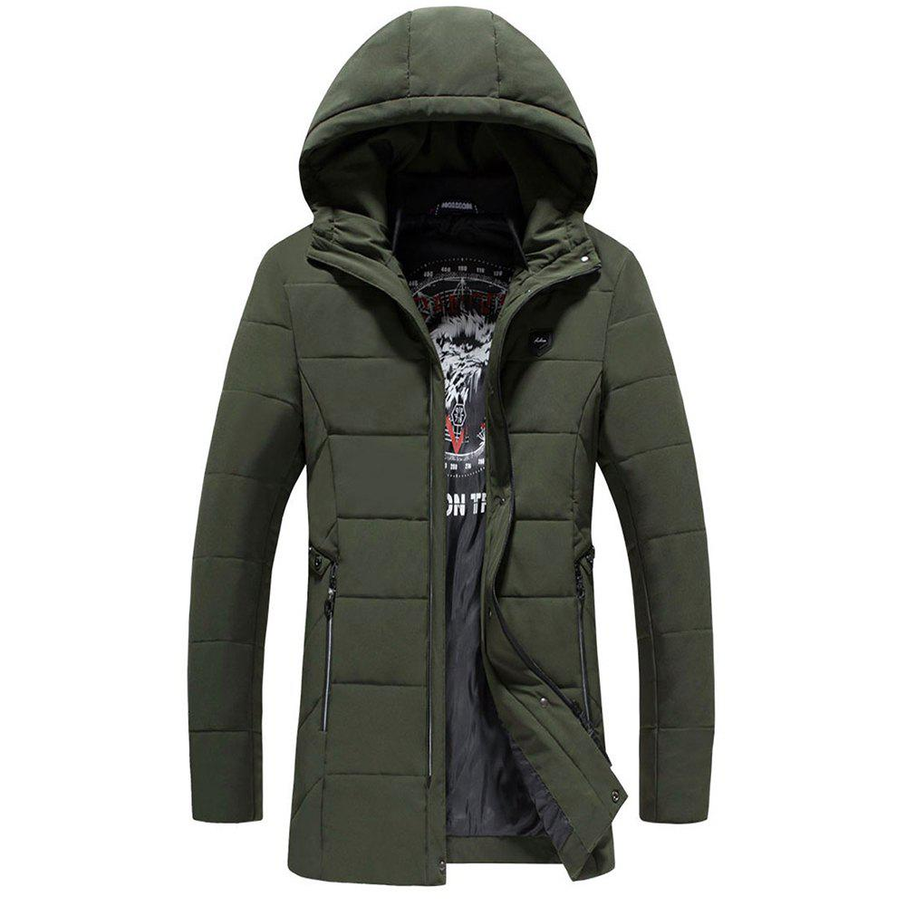 Fashion Warm Fashion Coat - ARMYGREEN L