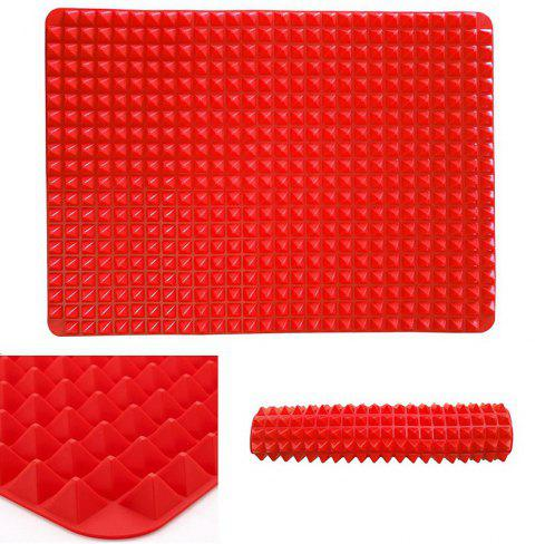 Professional Heat-Resistant Chef Baking Mat - RED