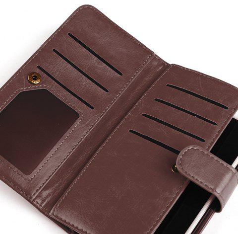 Wallet Case for Apple iPhone 6/6s, 6 Plus/6s Plus - BROWN