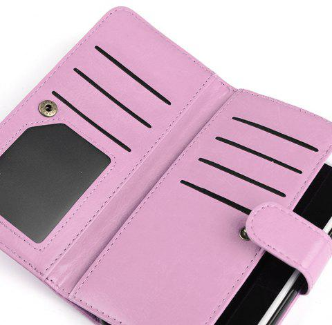 Etui Portefeuille pour Apple iPhone 6 / 6s, 6 Plus / 6s Plus - Rose