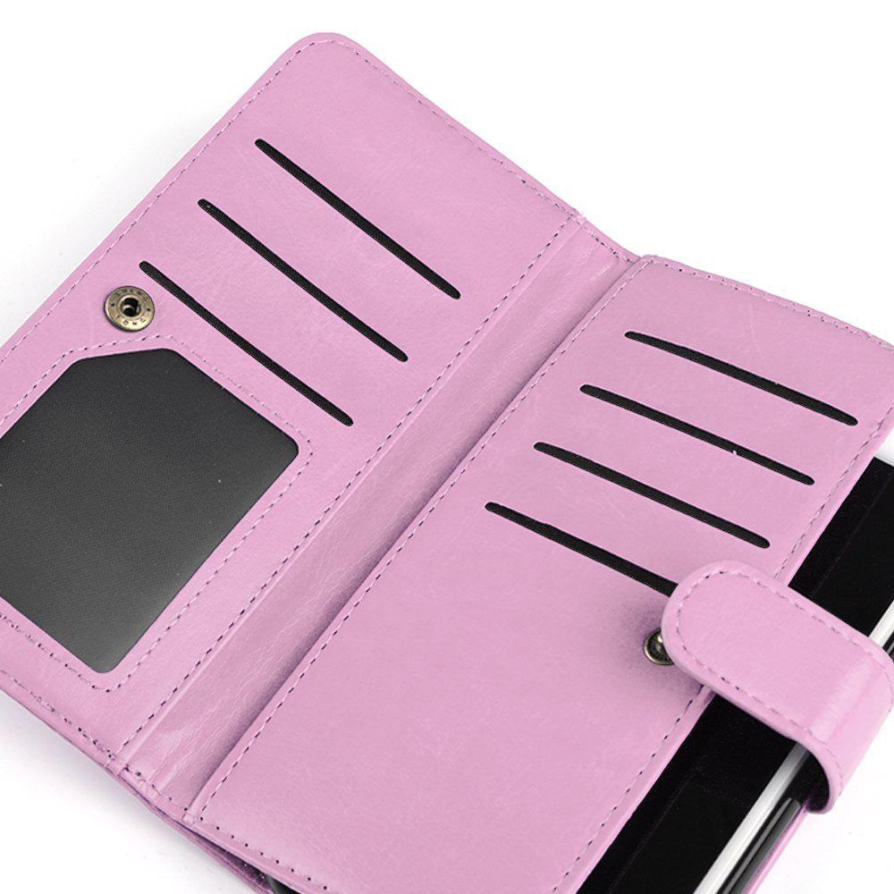 Etui Portefeuille pour Apple iPhone 6 / 6s, 6 Plus / 6s Plus - ROSE PÂLE