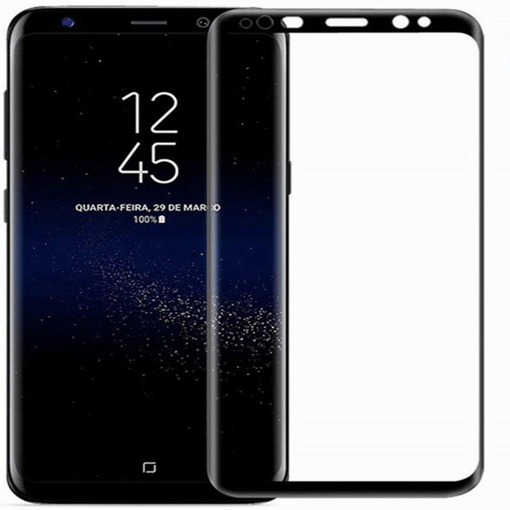 Tempered Glass Protector 3D 9H Explosion Proof Screen Film Toughened Membrane for Samsung Note8 - BLACK