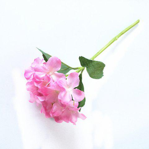 5 PCS Simulation Flower Artificial Flower Single Branch Christmas Wedding Decoration Table Accessories - PINK