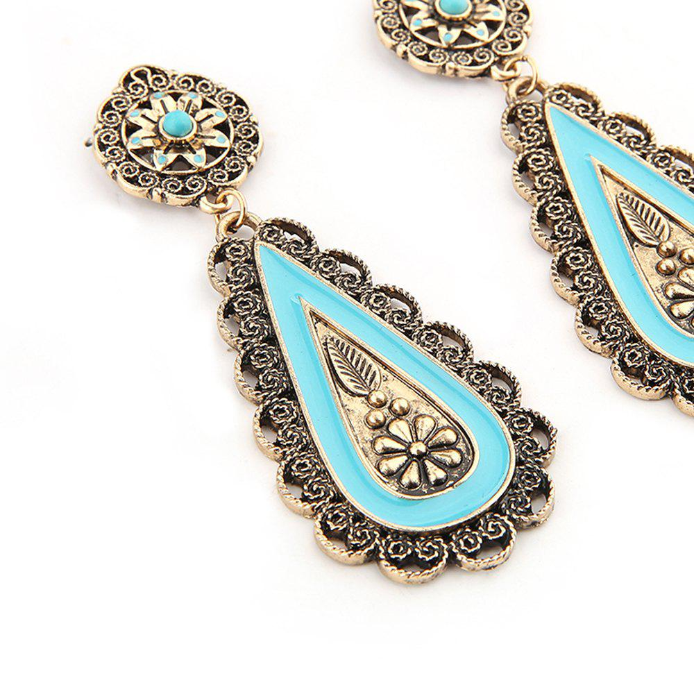 2018 boucles d 39 oreilles tendance new turquoise antique. Black Bedroom Furniture Sets. Home Design Ideas