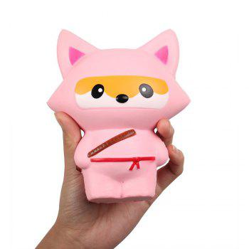 Slow Rising Squishies Kawaii Scented Soft Animal Toys - PINK PINK