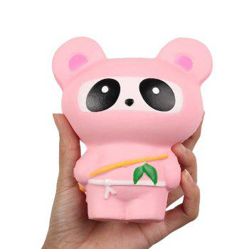 High Quality Slow Rising Squishies Kawaii Scented Soft Animal Toys - PINK PINK