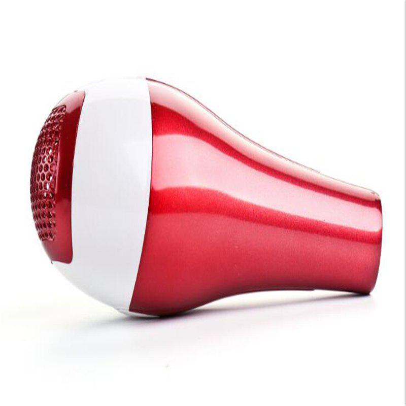Family Small Hair Student Hair Dryer Mute Hot and Cold Air - RED