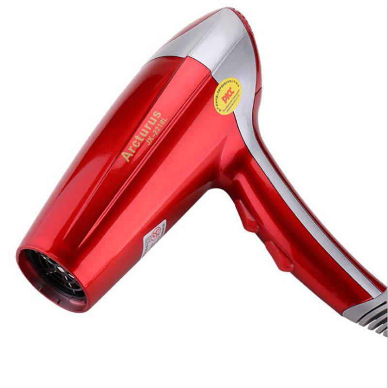 Family Power 2200W Barbershop Negative Ions Hair Dryer - RED