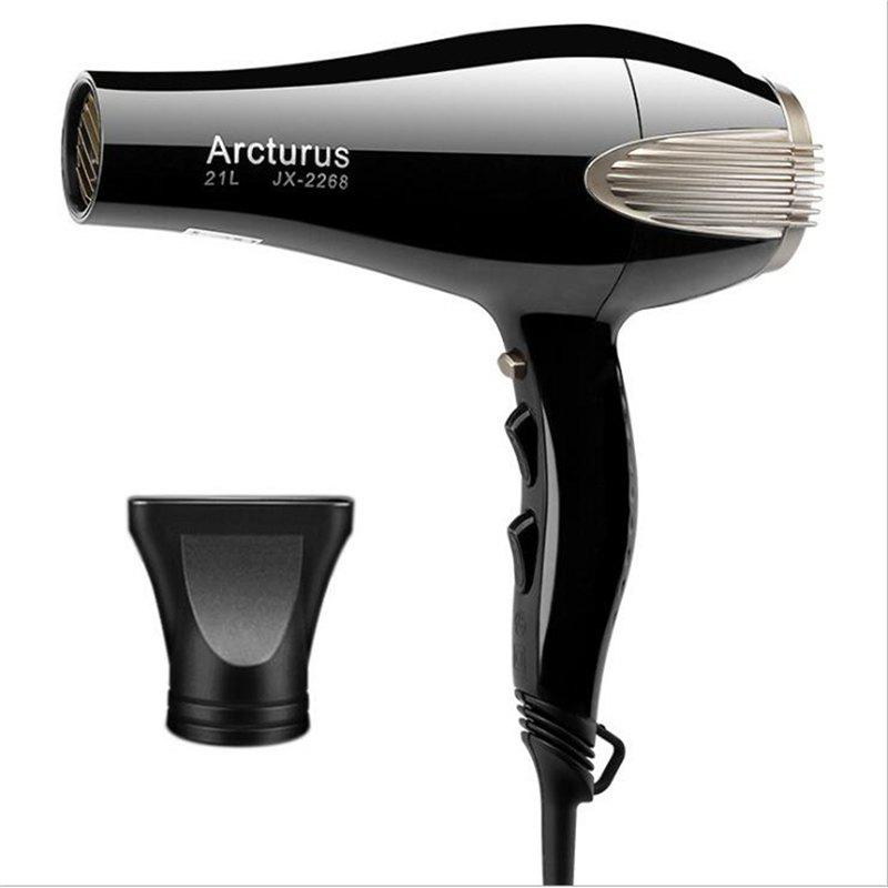 Power 2000W Profession Barbershop Hair Dryer - BLACK