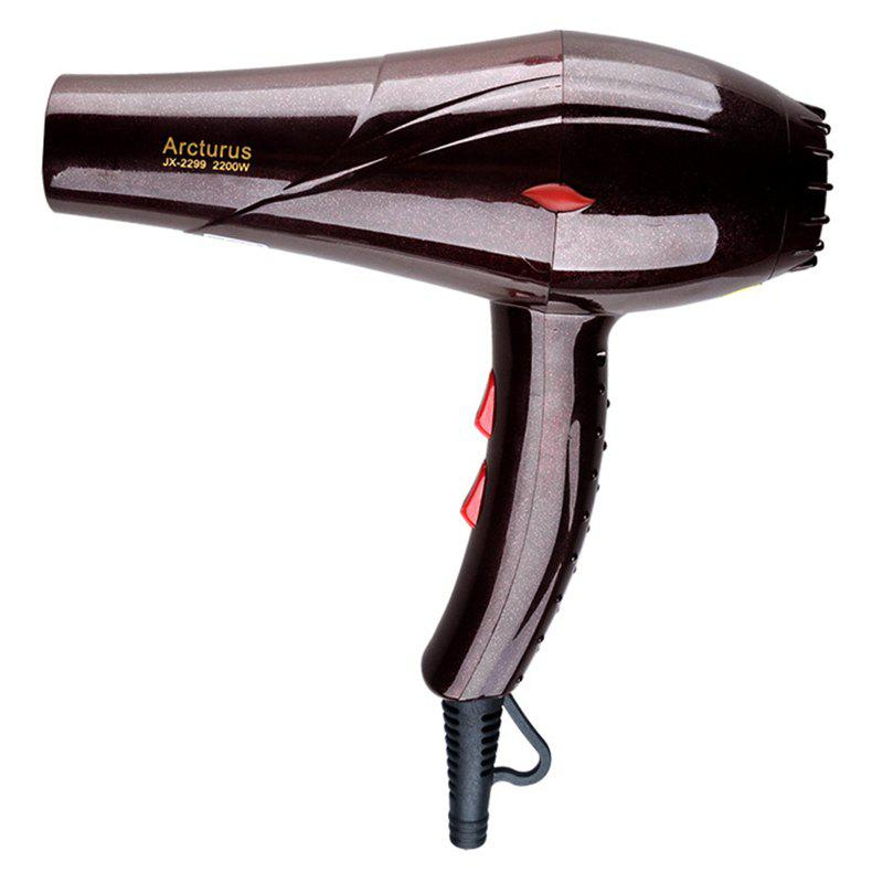Hair Dryer Barbershop Hot and Cold Air Family High Power - DARK AUBURN