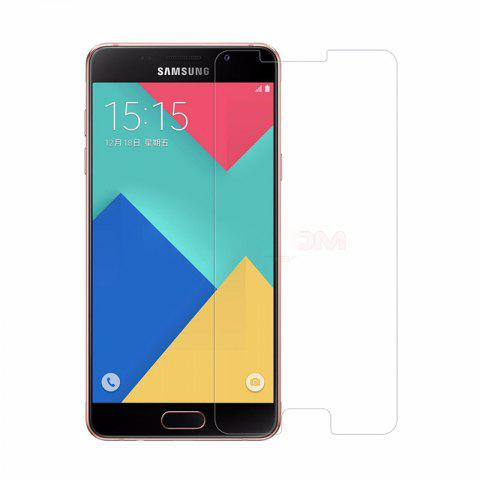 2PCS Screen Protector for Samsung Galaxy A3 2016 HD Full Coverage High Clear Premium Tempered Glass - TRANSPARENT