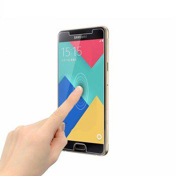 2PCS Screen Protector for Samsung Galaxy A5 2016 HD Full Coverage High Clear Premium Tempered Glass - TRANSPARENT