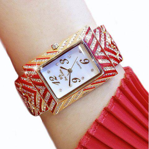Gold Dial Women'S Watch Top Fashion Luxury Brand New Ladies Quartz Women'S Steel Wrist Watch - GOLDEN
