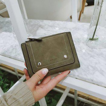 Short Paragraph Small Fresh Folding Multi-Function Purse -  IVY
