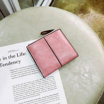 Short Section of The New Short Paragraph Multi-Function High-Capacity Coin Purse -  PINK