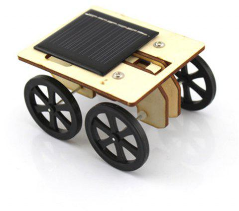 DIY Assemble Toy Set Solar Powered Car Kit Science Educational Kit for Kids Students - WOODEN VERSION