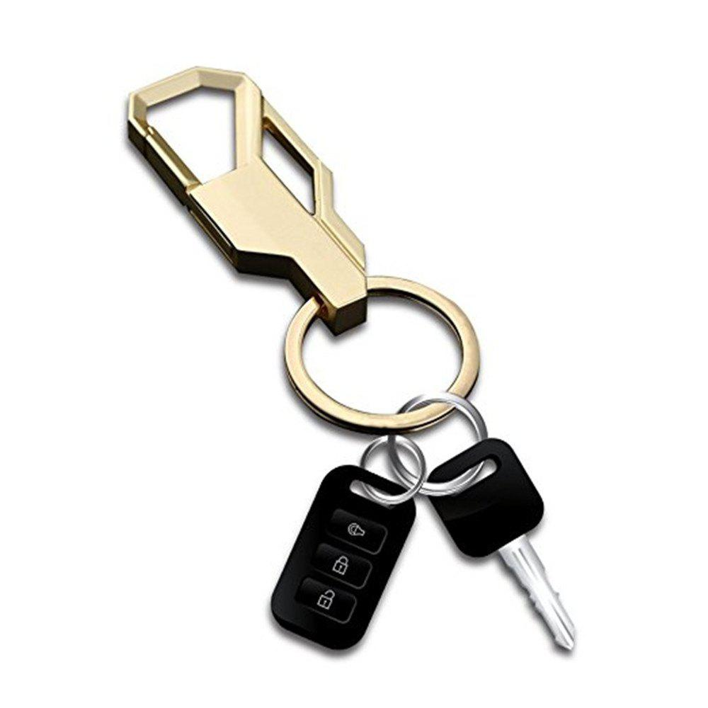 Car Keychain Metal Key Ring Business Gift 3pcs - COLORMIX