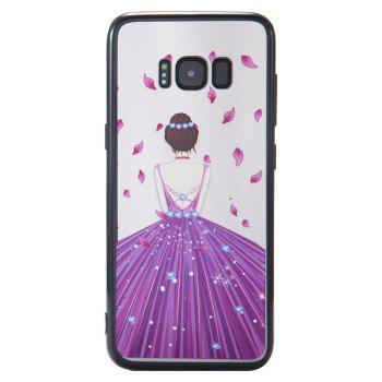 Case Samsung GALAXY S8Plus Photooil Relief Goddess TPU Phone Protects the Shell - DAHLIA
