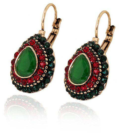 Rubies Vintage Ear Nail Bohemian-style Earrings - GREEN