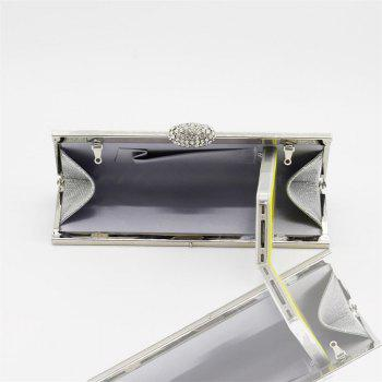 Women Bags pu Evening Bag for Event Party Silver Golden -  SILVER